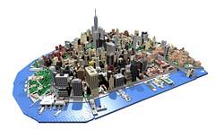 Manhattan Project (BrickMonkey MOCs) Tags: lego architecture newyork nyc manhattan