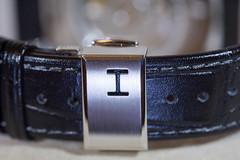 Deployante by Hamilton (LaSagra) Tags: macromondays fastners hamilton watches deployante iron belt leather