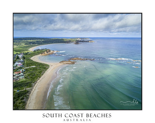 South coast beaches Australia