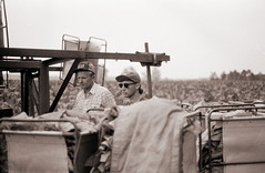 ontario tobacco harvest (cpt. willard) Tags: 1988 canada ontario ontarioyourstodiscover burford primingmachine boatdriver brantcounty farm summer priminggang