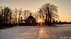 Fin d'une journée à la Barraque Michel (Lцdо\/іс) Tags: barraque michel belgique belgium belgie sunset soleil neige février 2018 travel winter snow tree fagnes venn venen fenn highes hautesfagnes waimes malmedy malmédy