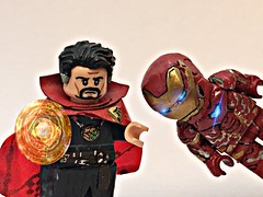 Dr. Strange (Avengers Infinity War) (JQLegocustoms) Tags: