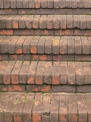 Steps Through Years (Jack4Phil) Tags: bricks rows outdoors steps