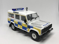 Corgi UK - Nine Double Nine - CC07716 - Land Rover Defender - P. S. N. I. Police Service of Northern Ireland - Miniature Diecast Metal Scale Model Emergency Services Vehicle (firehouse.ie) Tags: ireland car corgi automobile coche vehicle northern landrover ulster defender ruc norniron vehicule psni l'auto police polizei austinrover landie polis polizia peelers polizeiwagen sixcounties tcz5217 cops cop policia polizeiauto policja policie