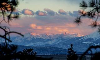 Sangre de Cristo Mountain Range Sunset