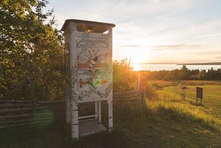 Schwedische Telefonzelle / Swedish Telphone Box