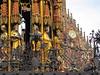 Hauptmarkt (Nuremberg, Germany) (PDX Bailey) Tags: clock macro gold closeup close statute sky germany nuremberg deutsche german