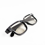 3D glasses on white background thumbnail
