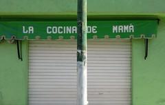 La columna de mamá (Robert Saucier) Tags: mexique mexico oaxaca vert green mur wall colonne img9167