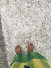 barefoot in the temple (olive witch) Tags: 2018 abeerhoque chennai day feet india jan18 january madras me outdoors