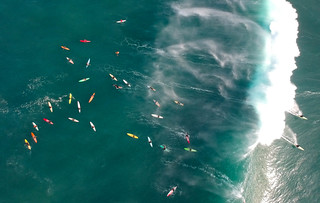 High Surf At Waimea Bay January 14, 2018