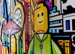 LEGO mural (digitaldurda.dpico) Tags: lego mural blocks art artwork craft manhattan newyork wall