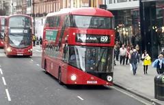 LT603 - LTZ 1603. (wagn1) Tags: newbusforlondon nbfl wrightbushybridbodywork abelliolondon route159 borisbus borismaster londontransport londonbuses transportforlondon buses london