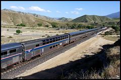 AMTK 39975 (golden_state_rails) Tags: amtk amtrak bnsf up sp atsf santa fe el capitan coast starlight tehachapi pass ilmon ca california ppc pacific parlor car willamette valley