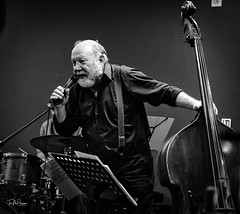 Mr Bass Man (Tom McPherson) Tags: bass jazz acros live band musician music
