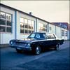 Cars - Velvia 100 exp* (magnus.joensson) Tags: sweden swedish trelleborg sunset car velvia 100 exp2007 e6 6x6 may epson v800 scan söderslätt rolleicord v handheld