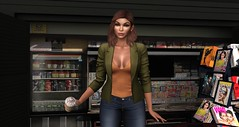 Easy Like Sunday Morning (♥Kelly Parker♥) Tags: secondlife sl secondlifefashion blog fashionblog avatar virtual stealthic glamaffair lelutka bentohead maitreya meshbody mesh tetra blazer blueberry amala fashiowlposes bento bentoposes pose coffee easy sunday morning relaxing trendy secondlifestyle treschic rawphotography unedited music