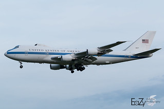 73-1677 United States Air Force Boeing E-4B