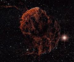 IC 443 Jellyfish Nebula Narrowband (UKJay1971) Tags: astrophotography astroimaging astronomy narrowband nebula photographingspace photoshop pixinsight astrometrydotnet:id=nova2423016 astrometrydotnet:status=solved