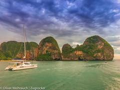 Ko Rang Nok (Oliver Weihrauch) Tags: krabi thailand beach andamansea railaybeach