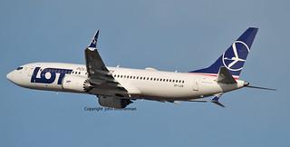 SP-LVB LOT 737 MAX