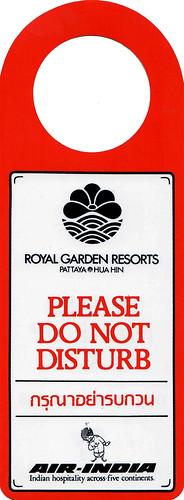Royal Garden Resorts. Pattaya / Hua Hin. Thailand - 13856