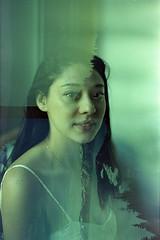 film (La fille renne) Tags: film analog lafillerenne 35mm fujicastx1n 50mmf16 kodak kodakportra100tungsten filmswap swap mx doubleexposure multipleexposure auspices richardpjlambert misslouise landscape portrait