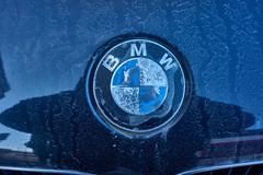 dirty BMW Logo (1ffischer) Tags: none cctv25mmf14apsc germany deutschland nrw nordrheinwestfalen 2018 nex3