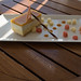 New York cheescake Banyan Tree Seychelles Hotel