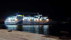 Our next transport (Steenjep) Tags: madeira portugal ferie holiday urlaub portosanto harbour watersea night light reflex