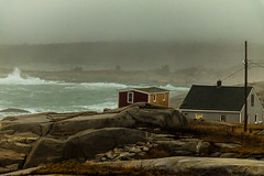 By the sea (langdon10) Tags: atlanticocean canada canon70d novascotia peggyscove shoreline surf ocean outdoors winter