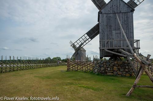 Холм с ветряными мельницами в Англа