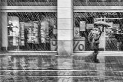 Im Schnee (Deinert-Photography) Tags: streetfotografie fujixt2 schwarzweiss street schwarzweis bremen blackwhite regenschirm deutschland fujifilmxf35mmf20rwr cityschlachte citylife hb hansestadt regenwetter streetart streetphoto streetphotography ubanphotography urban ombrello parapluie regenscherm schirm umbrelle