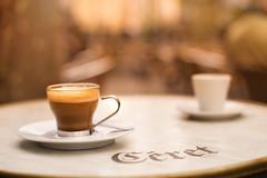 Saturday morning in Céret (Nathalie Le Bris) Tags: taza cup café coffee céret bokeh marron brown