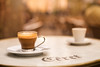 Saturday morning in Céret (Nathalie Le Bris) Tags: taza cup café coffee céret bokeh marron brown