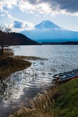 Mt. Fuji / Fujiyama / 富士山 (hiroshiken) Tags: fujikawaguchikomachi yamanashiken 日本 jp 20171215 kawaguchiko 河口湖 mountain fuji fujiyama 音樂盒之森美術館 musicforestmuseum east
