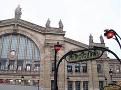 Paris Gare du Nord (TeaMeister) Tags: europe train travel interrail seat61 journey cities spain espana malaga france paris london eurostar sncf ave renfe europeanunion createyourownstory station metro artnouveau