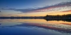Førresfjorden, Norway (Vest der ute) Tags: g7xll g7xm2 water waterscape seascape sea landscape sky clouds trees reflections mirror softlight ho fav25 fav200