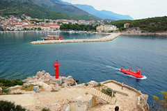 Makarska, Croatia (ZdenHer) Tags: sea makarska city