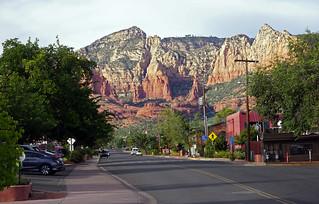 Main Street Sedona, AZ