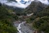 Morning View (Bob Hawley) Tags: nikond7100 asia taiwan taitungcounty haiduantownship mountains bishanhotsprings nikon2870mmf3545afd valleys forest trees rivers morning roads clouds sinwulyuriver wulu bridge