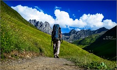 My solo hiking (koba.petriashvili) Tags: hiking backpack travel georgia camping peak mountain landscape nature highpeak