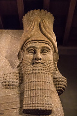 Sargon II, King of Assyria (Mark Kaletka) Tags: orientalinstitutemuseum universityofchicago chicago illinois unitedstates us ancient middleeast carving statue assyrian museum artifact egyptian sumerian stone persian tablet