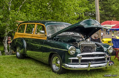 1950 Chevrolet Tin Woody (kenmojr) Tags: 2017 antique atlanticnationals auto car classic moncton newbrunswick show vehicle vintage centennialpark kenmo kenmorris carshow nikon d7000 nikkor 18105 1950 chevy chevrolet tin woody stationwagon canada