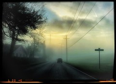 The Unkown (1seeu) Tags: storm cloudy sunrise fog iphonephotography