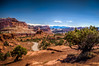 Capitol Reef National Park (donnieking1811) Tags: utah fruita capitolreefnationalpark nationalpark capitolreef mountains trees outdoors road sky clouds blue hdr canon 60d lightroom photomatixpro