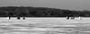 ice fishers, close b/w (kerwilliger) Tags: madison lake mendota ice winter wisconsin icefishing blackwhite january