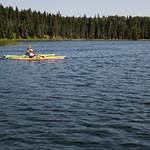 Kayaks on the Heart Lakes, Prince Albert National Park thumbnail