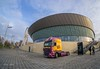 Wagon (Photos taken with Sony mirrorless cameras) Tags: liverpool pierhead lorry architecture