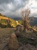 Taur farmyard (Tina Westcott) Tags: dhorkaka nepal2017 approachingstorm landscape